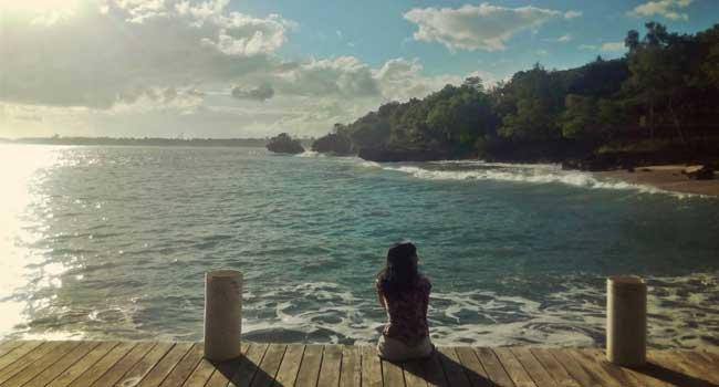 Rute Pantai Mimpi Pondok Pemuda Bali