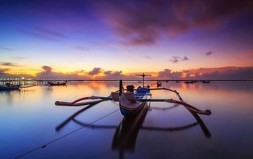 Sunset Pantai Kelan