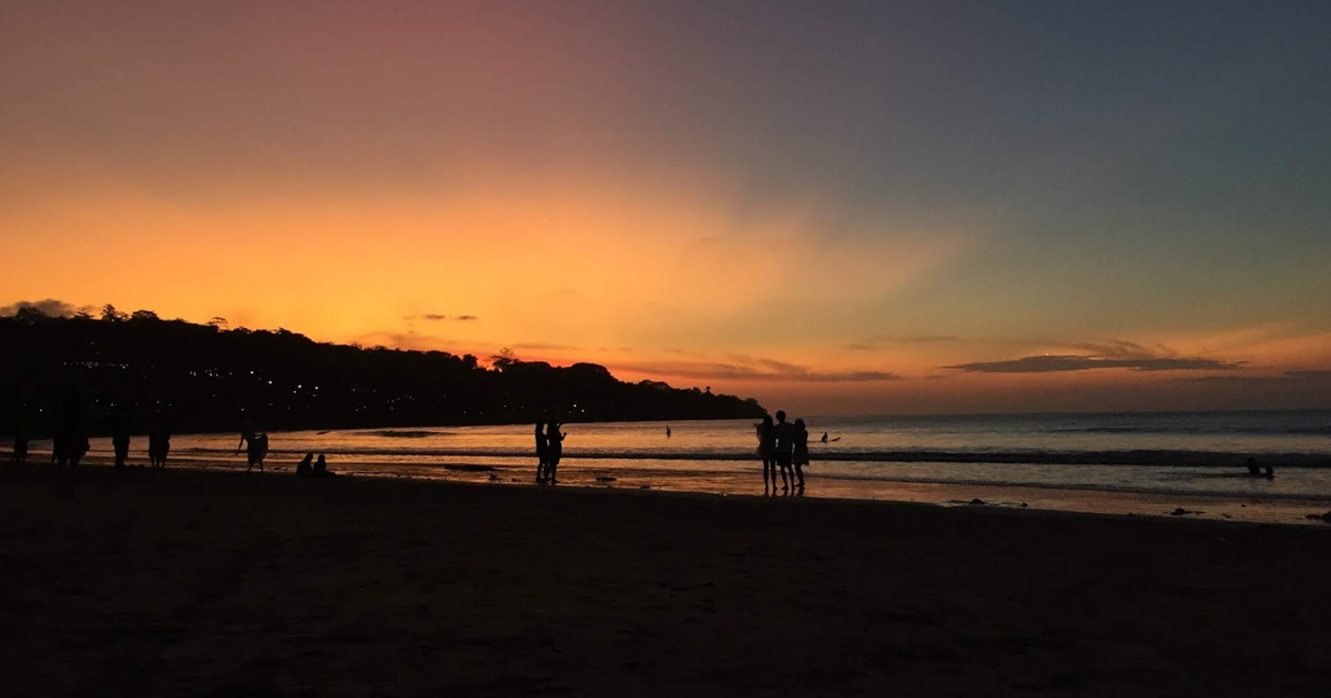 Pantai Muaya Sunset